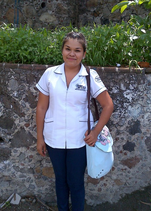 Daniela in uniform
