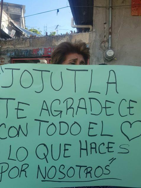 Jojutla sign of gratitude